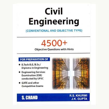 Civil Engineering MCQ by RS Khurmi