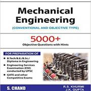 RS Khurmi MCQ Mechanical Engineering